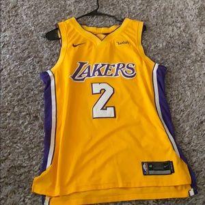 Lonzo Ball Lakers Jersey
